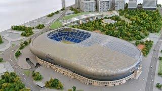 Как стоили стадион Динамо им. Льва Яшина? It now looks new Dynamo stadium Moscow