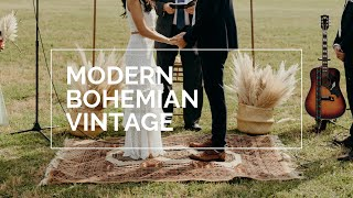 DIY: My Modern Boho Vintage Wedding *on A Budget*