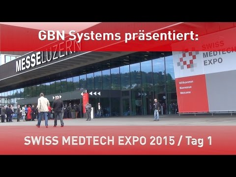 Messevideo der Swiss Medtech Expo 20015