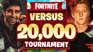 VIKKSTAR & NOAHJ456 vs FAZE TFUE & CLOAKZY in Fortnite $20,000 Tournament