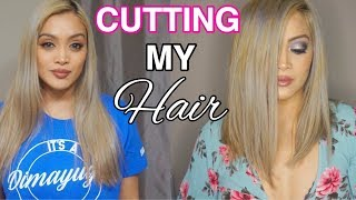 HOW I CUT MY HAIR SHORT (EASY DIY HAIRCUT)