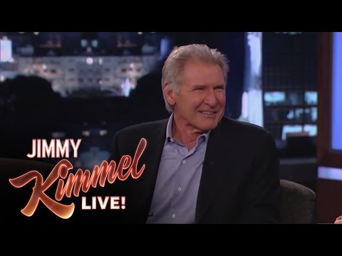 Harrison Ford Melts Down On Jimmy Kimmel Over Chewbacca