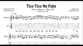 Tico Tico No Fuba Easy Tab Sheet Music for Guitar Paquito de Rivera