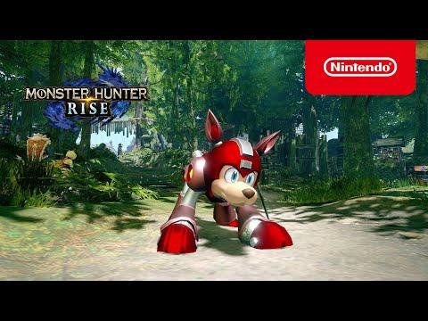 Mega Man Collab  de Monster Hunter Rise