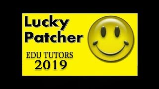 hello my lucky patcher