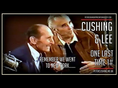 Peter Cushing and Christopher Lee: The Last Meeting Clip 1