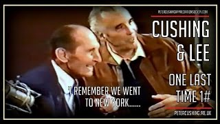 Peter Cushing And Christopher Lee The Last Meeting Clip 1