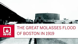 The Great Boston Molasses Flood