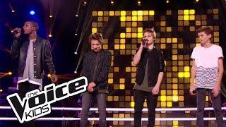 "Yann / Dylan / Anagram - ""American boy""   The Voice Kids France 2017   Battle"