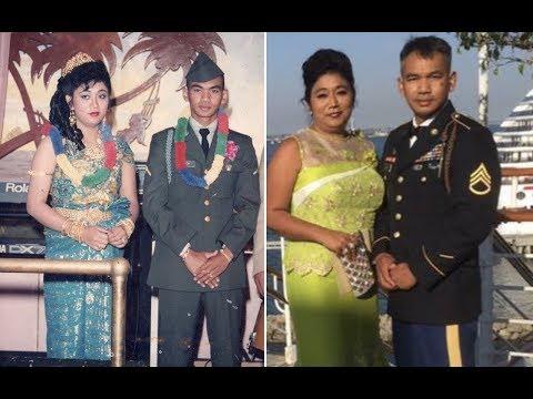 មង្គលការបង General ស្រលាញ់អូនដល់កាន់ឈើច្រត់      Bong General wedding  1990