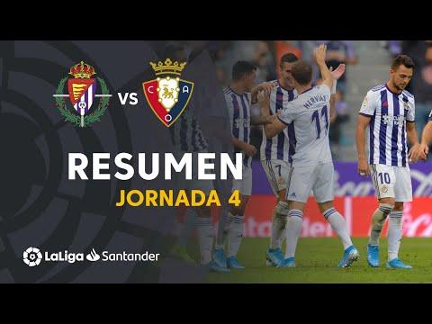 Resumen de Real Valladolid vs CA Osasuna (1-1)