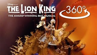 'Circle of Life' in 360º | THE LION KING on Broadway