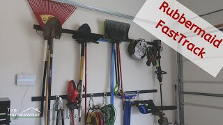 Rubbermaid FastTrack Garage Storage System, Review & How To Install