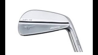 The New MIZUNO MP 18 irons reviewed by Mark Crossfield