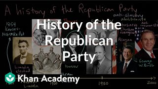 History of the Republican Party   American civics   US government and civics   Khan Academy