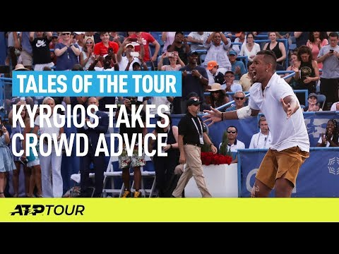 When Fans Coach Tennis Players | TALES OF THE TOUR | ATP