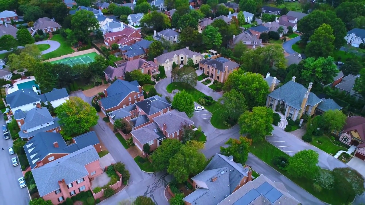 Residential Drone Green Park