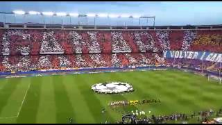 preview picture of video 'Atlético de Madrid - Barcelona | Impresionante tifo'