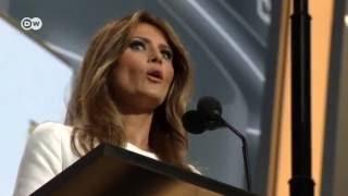 Скандал в США: Мелания Трамп списала свою речь у Мишель Обамы