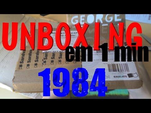 UNBOXING DA SARAIVA | 1984