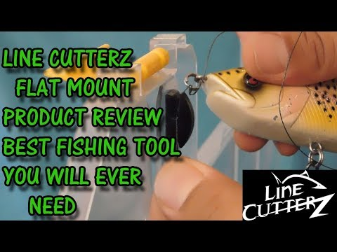 LINE CUTTERZ FLAT MOUNT (REVIEW)  BEST FISHING TOOL EVER!