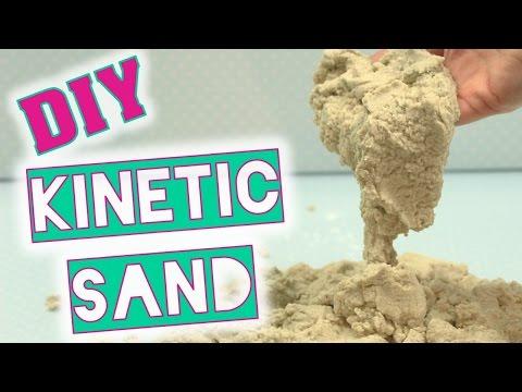 """DIY Spielsand wie """"Kinetic Sand"""" selber machen - weicher Spielsand"""