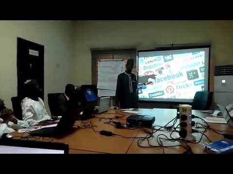One Day Social Media Workshop In Zamfara Organised By TDP
