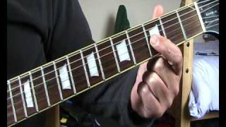 Ron Wood  guitar lesson for dummies (borstal boys)
