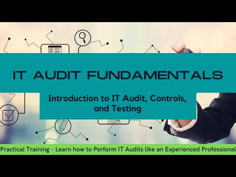 IT Audit for Beginners - Training on Introduction to IT Audit, IT ...