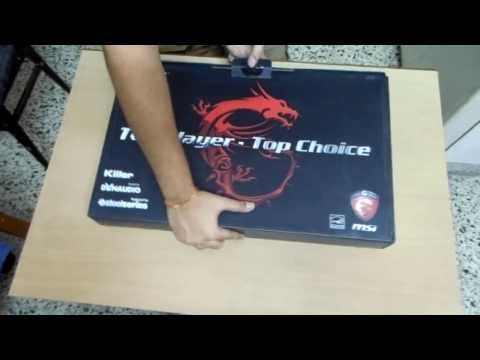 Unboxing And Overview of the MSI GT60 Series Laptop