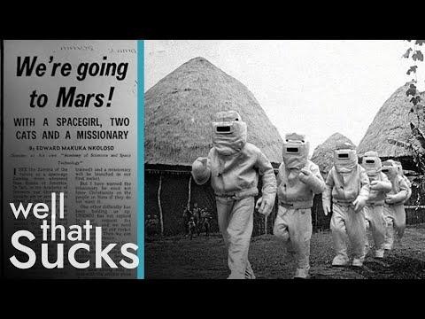 Zambijský pokus o přistání na Marsu