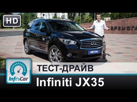 Infiniti  Qx60 Паркетник класса J - тест-драйв 1