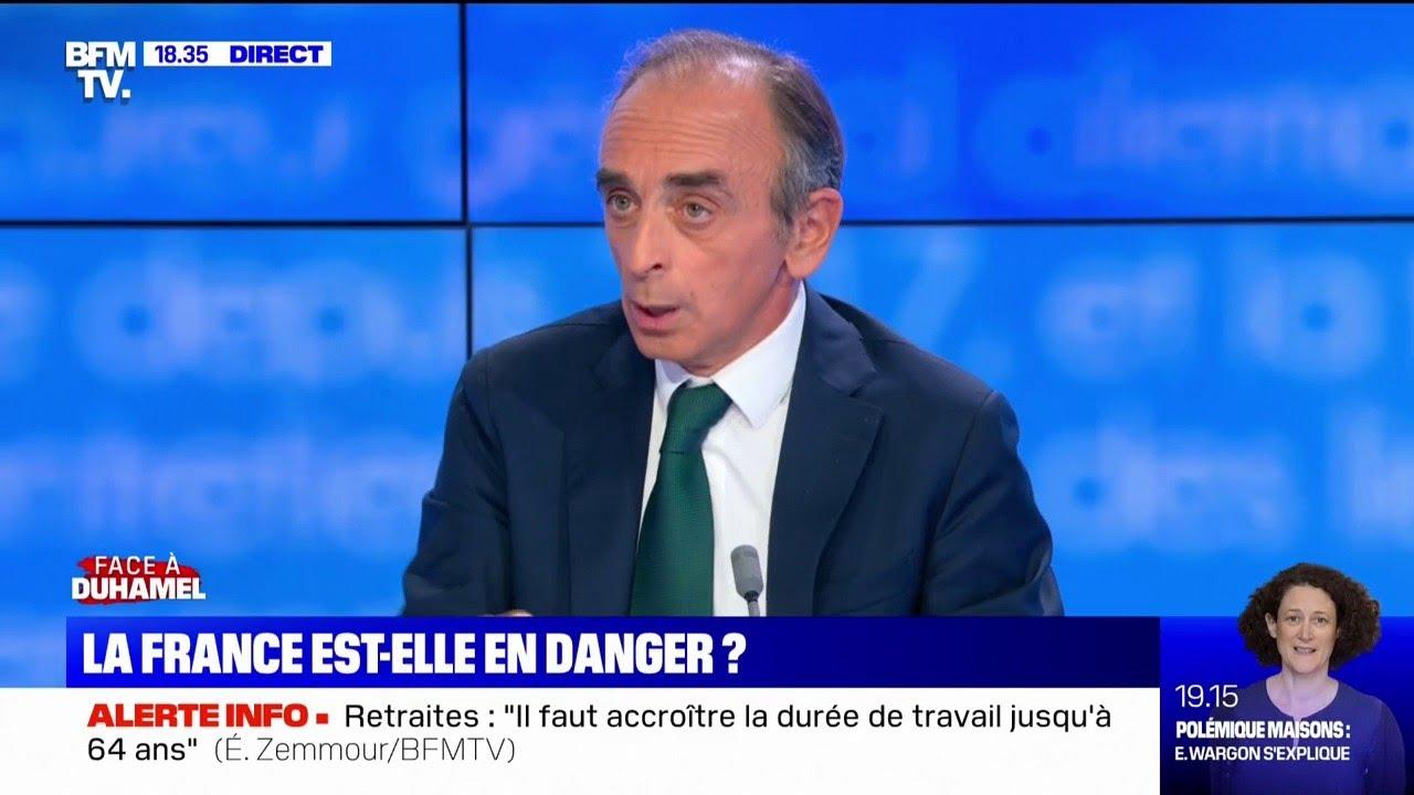 """Éric Zemmour: """"Je pense que la guerre civile est déjà là"""""""