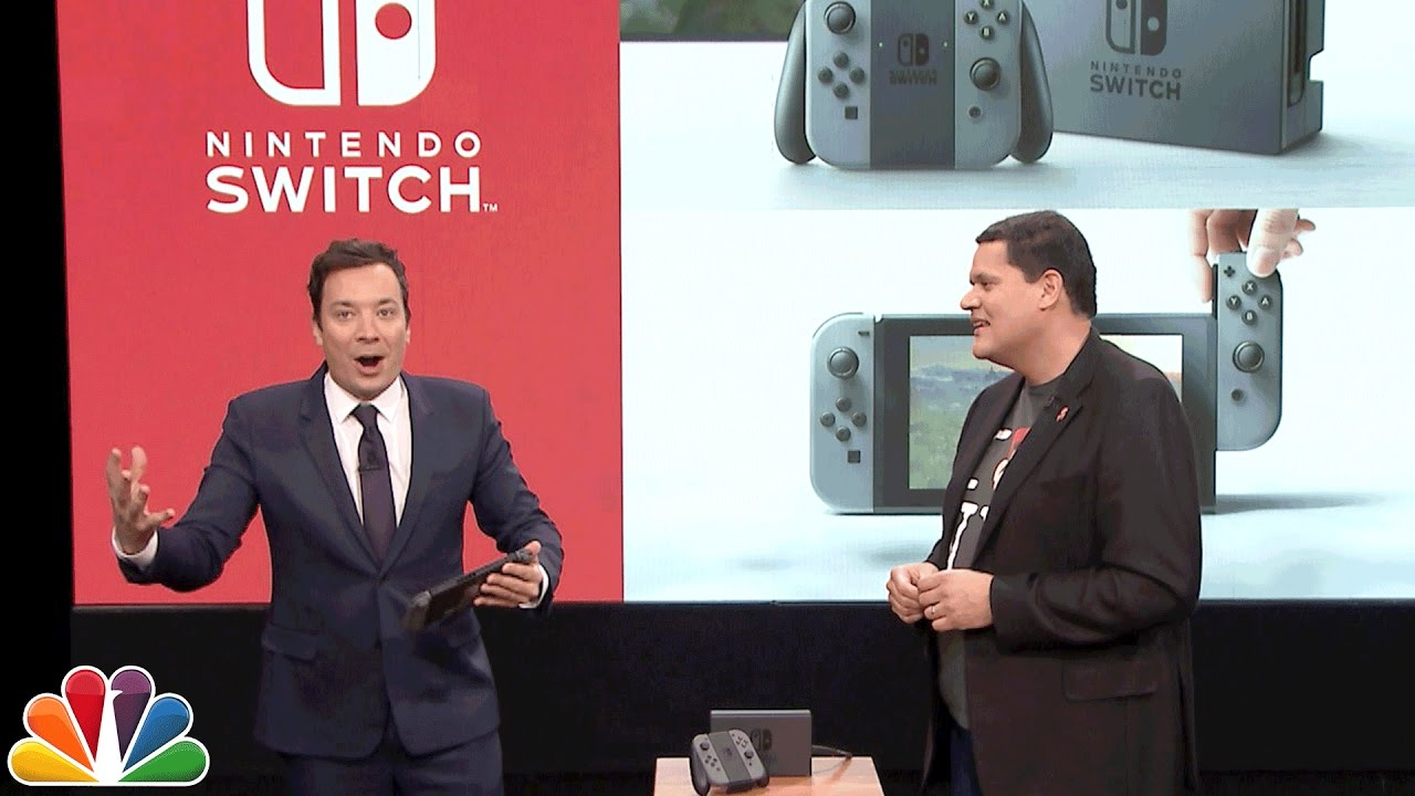 Here's Our First Proper Look At The Nintendo Switch
