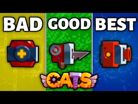 RANKING EVERY GADGET IN C.A.T.S FROM WORST TO BEST - Top 7 Gadgets Crash Arena Turbo Stars