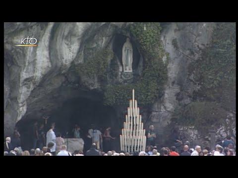 Chapelet à Lourdes du 12 octobre 2019