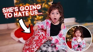 WE GAVE PENELOPE THE WORST GIFT EVER *HILARIOUS REACTION*