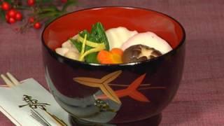 New Year Ozoni Soup (Japanese Rice Cake Soup Recipe)