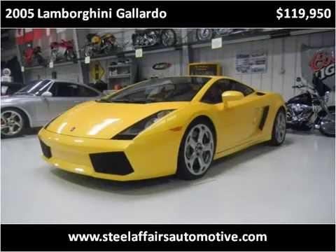 2005 Lamborghini Gallardo Gallardo Coupe: 2005 Lamborghini Gallardo Coupe