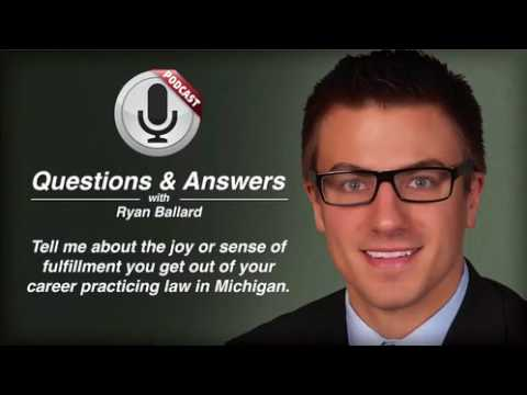 video thumbnail Ryan Ballard's Joy of Practicing Law in Michigan