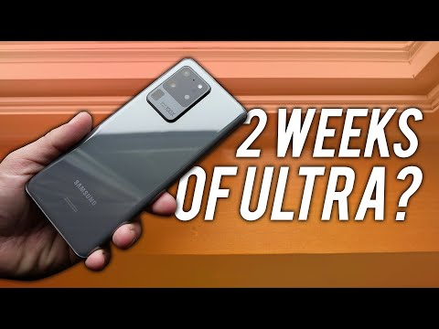 External Review Video 7TPwX4e1K5k for Samsung Galaxy S20 Ultra Smartphone