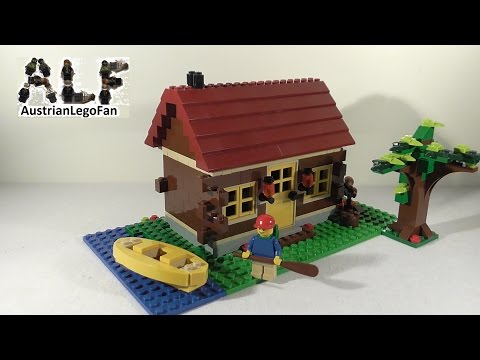 Vidéo LEGO Creator 5766 : La maison en forêt