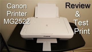 Canon PIXMA MG2522 Printer Review & Print Test - 2020 - (Not a Unboxing Video)!