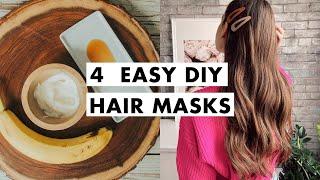 Easy DIY Hair Masks | Luxy Hair