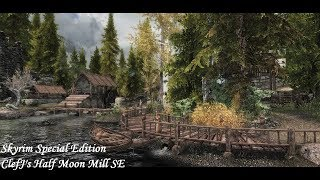 Skyrim SE - Mod: ClefJ's Half Moon Mill SE