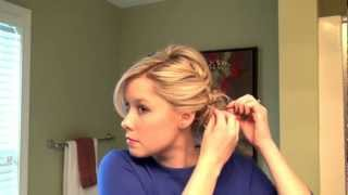 Real Simple Holiday Hair Tutorial Video: Full Updo with a Braid