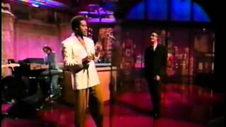 Al Green & Lyle Lovett - Funny How Time Slips Away [4-19-94]