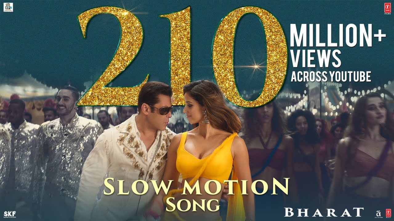 Slow Motion Song - Bharat | Salman Khan, Disha Patani