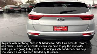 Vin check lien holder lien records  records of a claim ... a lien on a vehicle means you h