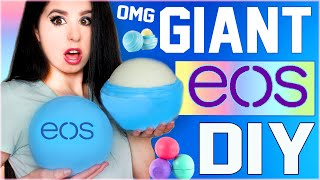 DIY GIANT EOS Lip Balm! | How To Make The BIGGEST EOS In The World! | GIGANTIC EOS! | Grande EOS!